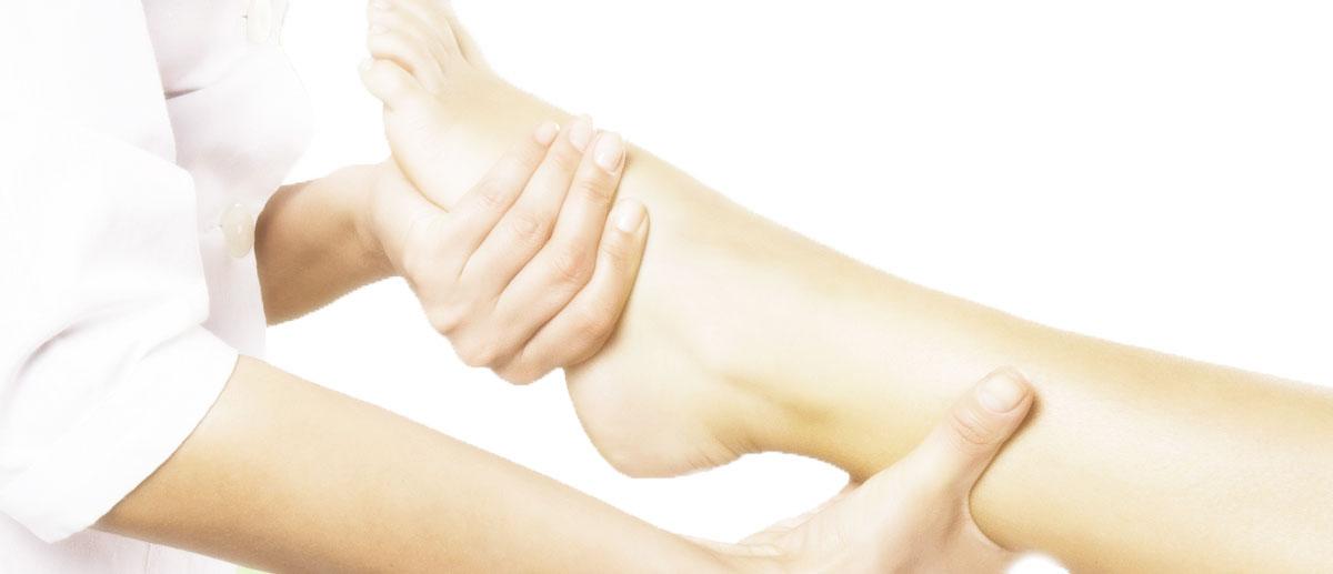 Fuss-Reflexzonen Massage